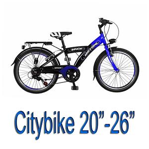 """Citybikes 20"""" - 26"""""""