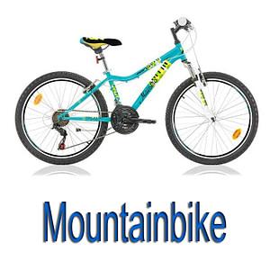 """Mountainbikes 20"""" - 24"""""""